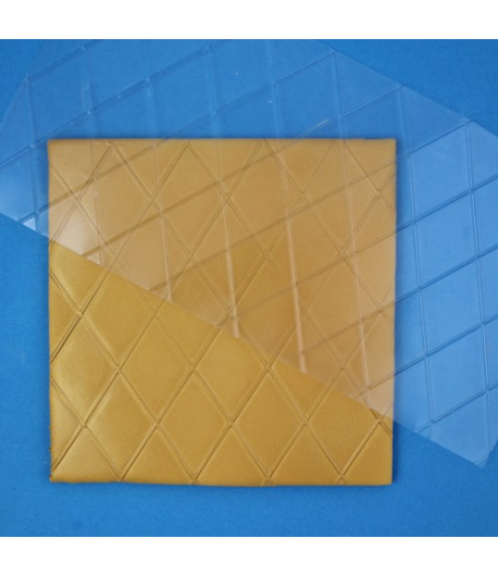 PME Plantilla Texturizadora Diamante, Grande