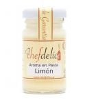 Aroma de limón en pasta