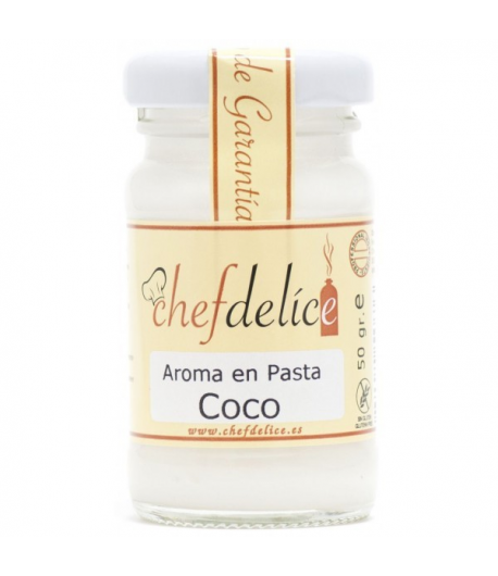 Aroma en pasta de coco