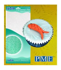 PME Tapete de Impresión Ondas Estilosas