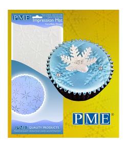 PME Tapete de Impresión Copo de Nieve