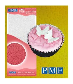 PME Tapete de Impresión de Mini Corazón