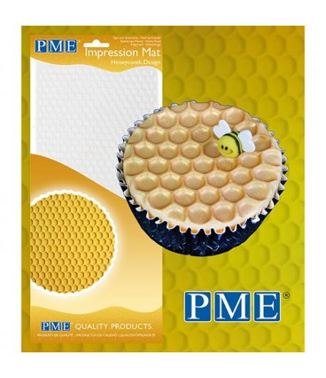 PME Tapete de Impresión Panal de Miel