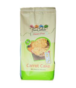 FunCakes Mezcla para Tarta de Zanahoria Sin Gluten, 500g