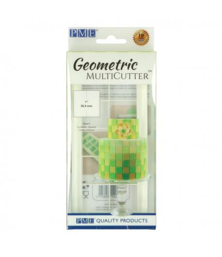 PME Multicortador Geométrico Cuadrado MEDIANO