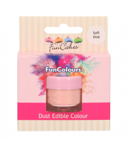 FunCakes Colorante en Polvo Comestible FunColours - Soft Pink