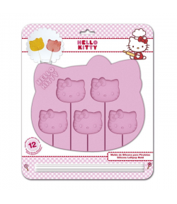 Molde Piruletas Hello Kitty