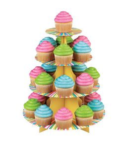 Wilton Stand o Expositor para Cupcakes Arco Iris