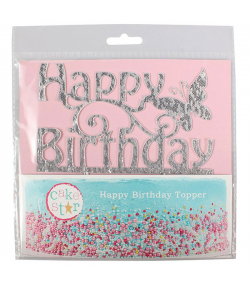 Cake Star Cake Topper Happy Birthday