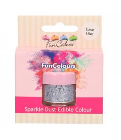 FunCakes Purpurina Comestible - Lunar Lilac, FunColours