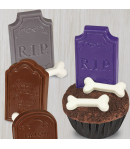 Wilton Molde para Lápidas, para Candy o Choco, 8 cavidades