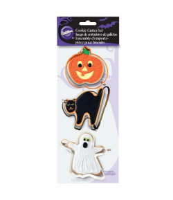 Wilton Cortadores Galletas Halloween, set 3