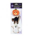 Wilton Cortadores Galletas Halloween, set 3