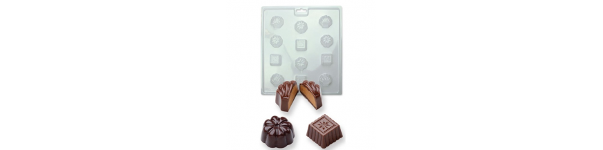 Moldes de Chocolate