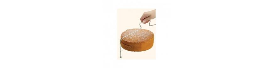 Espátulas y cuchillos para tarta