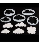 FMM Cortadores Nubes Esponjosas, 5u.