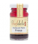 Chefdelice Aroma en Pasta -Fresa- 50gr.