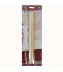 PME Palitos de Bamboo para Tartas, 12 unidades