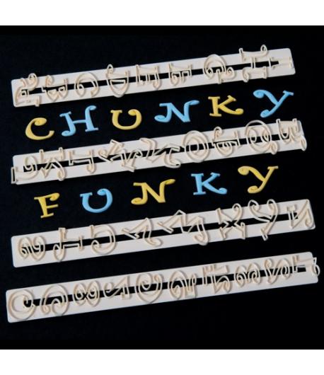 FMM Tappits Alfabeto Chunky Funky & Números