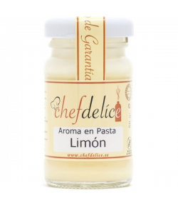 Chefdelice Aroma en Pasta -Limón- 50gr.