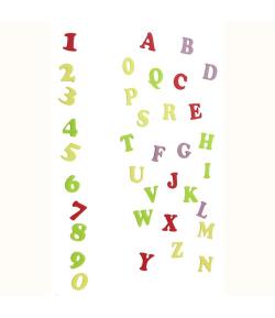 FMM Cortadores Tappit, Letras y Números Art Deco Mayúscula set/2