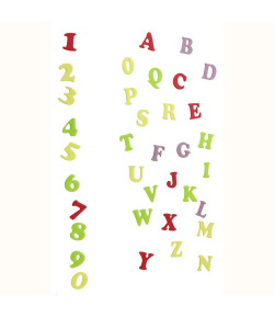 FMM Tappits Alfabeto y Números Art Deco Mayúscula