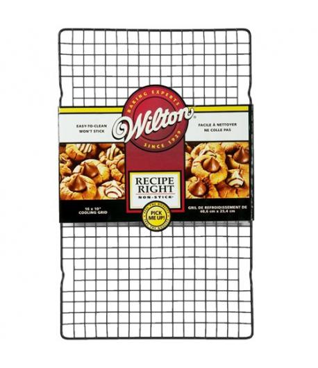 Wilton Recipe Right Rejilla Antiadherente Enfriado 40x25 cm