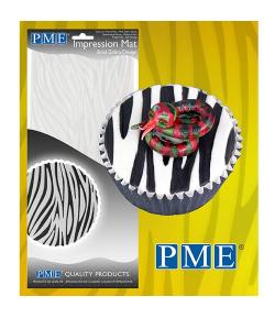 PME Tapete de Imprimir Cebra