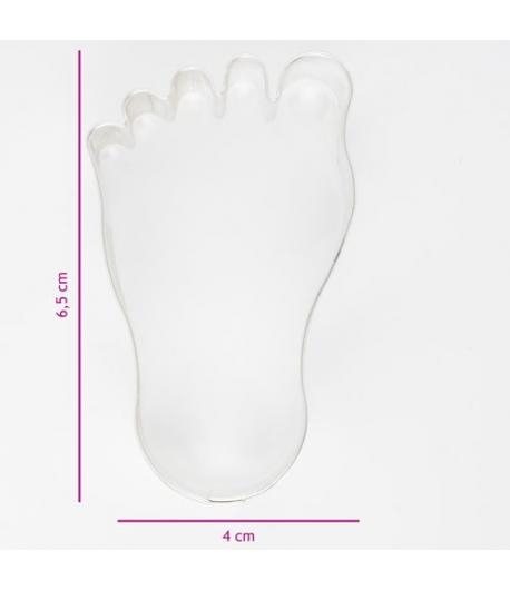 Cortador de Galletas Pie 6,5 cm