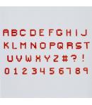 FMM Cortadores Alfabeto Píxel
