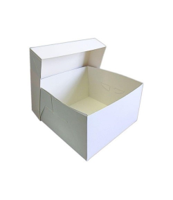 Caja Tarta Blanca 45 X 45 X 15 Cm