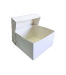 Caja Tarta Blanca 20 X 20 X 15 Cm