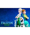 Papel de Azúcar frozen fever 20cm