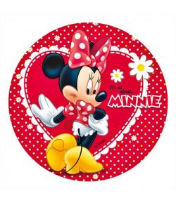 Papel de Azúcar Minnie 20cm