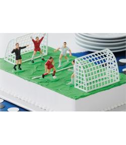 Wilton Set Decorativo Figuras de Fútbol - 7 piezas