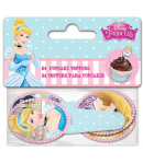 Stor Toppers para Cupcakes Princesas 24u.
