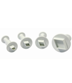 PME Miniature Diamond Plunger Cutter set/4
