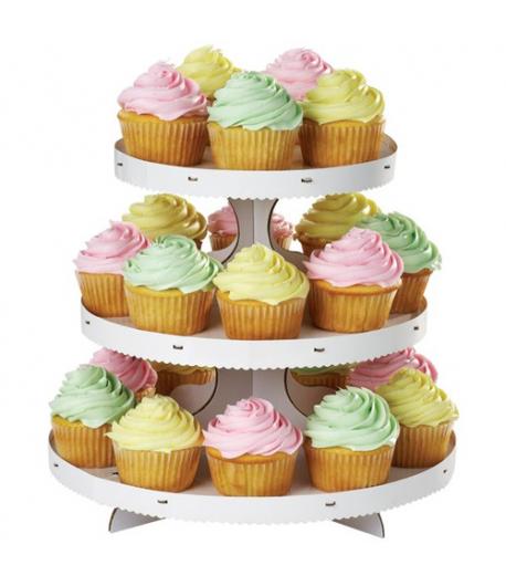 Wilton Stand o Expositor para Cupcakes, 3 alturas