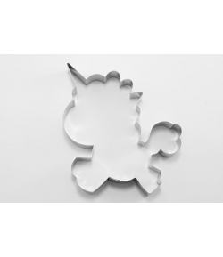 Cortador, Unicornio 12cm.