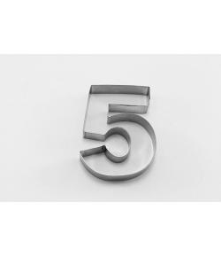 Cortador, Número 5 -7,5x6cm.
