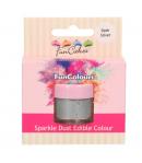 FunCakes Purpurina Comestible FunColours - Dark Silver