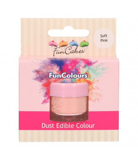 FunCakes Colorante en Polvo Comestible FunColours - Soft Pink