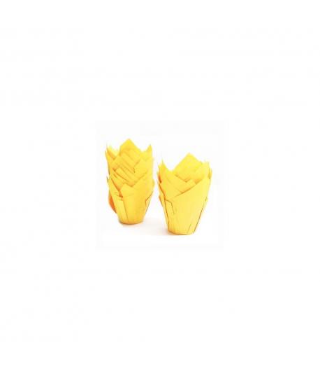 Cápsulas muffins 24 unidades Amarillo