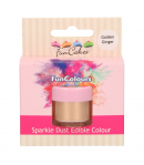 FunCakes Purpurina Comenstible FunColours - Golden Ginger