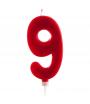Vela Gigante Tartas Cumpleaños Numero 9
