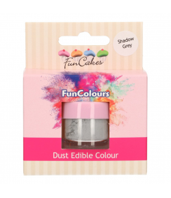 FunCakes Colorante en Polvo - Shadow Grey, FunColours