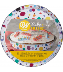 Wilton Bake & Bring Molde Tin Geo Redondo 20cm