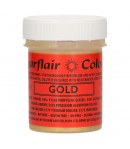 Sugarflair Edible Glitter Paint Gold 35g