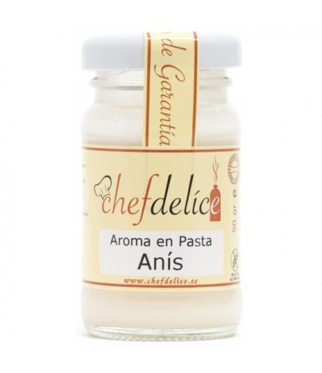 Aroma de anís en pasta