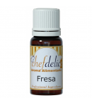 Chefdelice Aroma Concentrado -Fresa- 10ml.